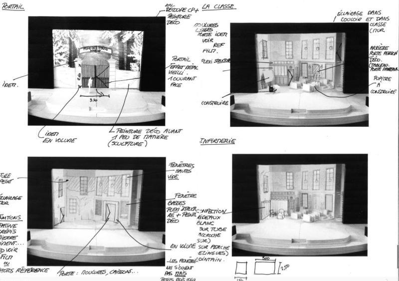Story Bord - Avant projet - Les Choristes