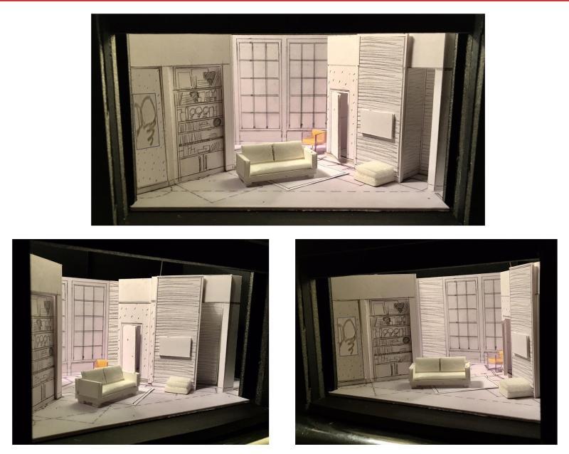 Maquette  - Nuit d'Ivresse acte 2 - avant projet