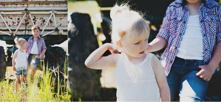 Geschwisterliebe   Kinderfotografie Stralsund