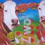 Zeitgenössische Malerei, Motiv Kuh Q2