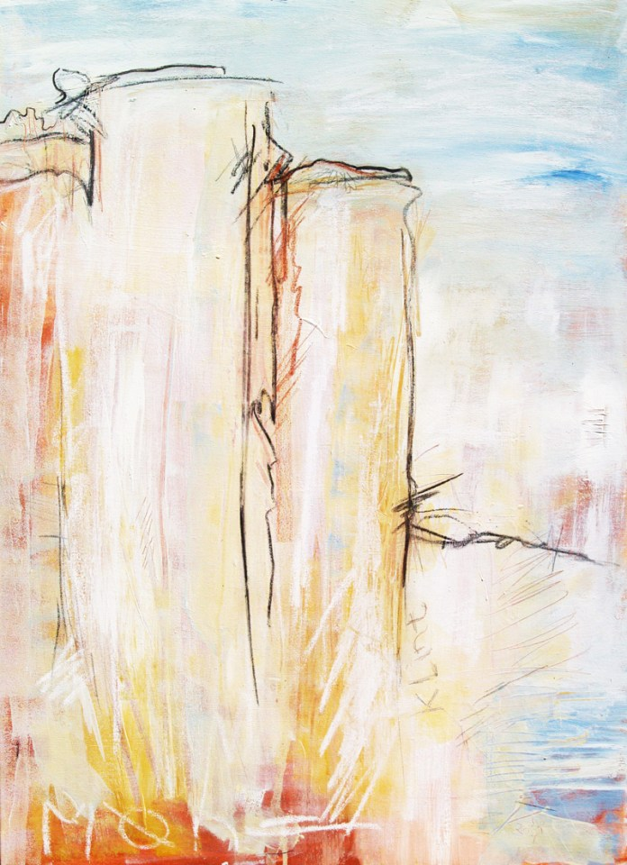 Klint, Abstrakte Malerei Steilküsten