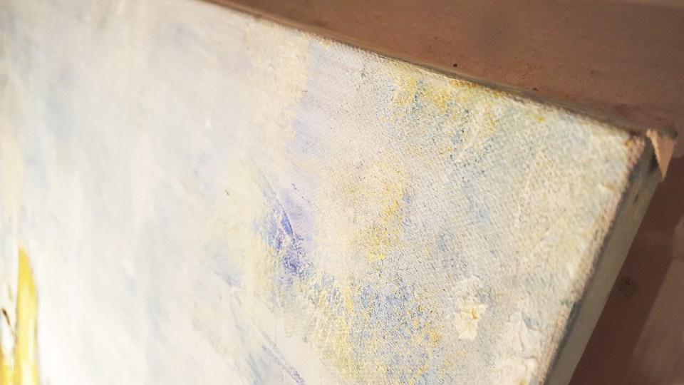 Abstrakte Malerei Detail