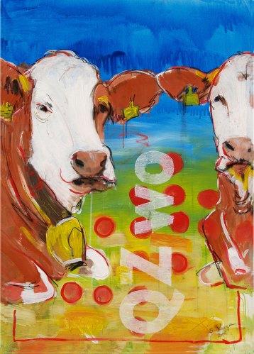 Kunstdruck Kuh kaufen