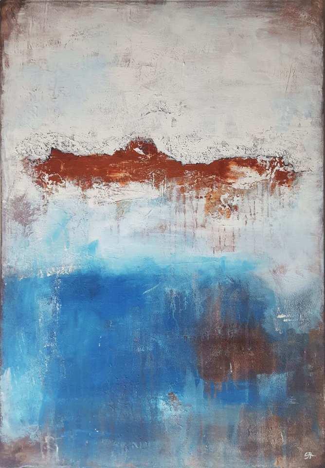 struktur, abstrakte Malerei