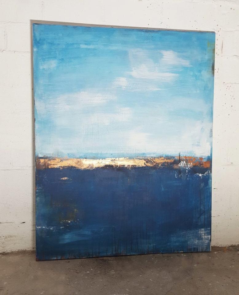 Deep Sea, abstraktes Kunstwerk