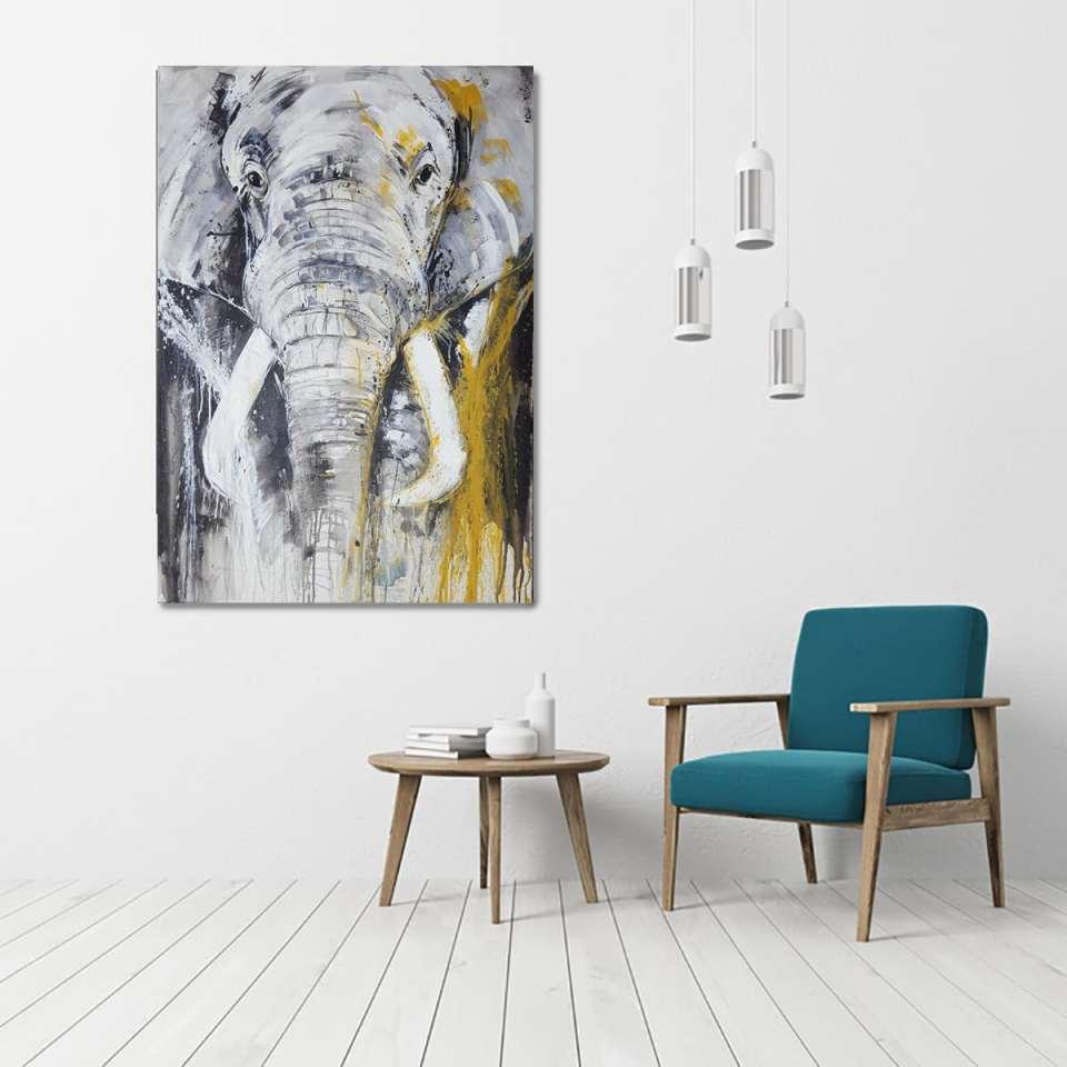 Elafant, Unikat im Raum