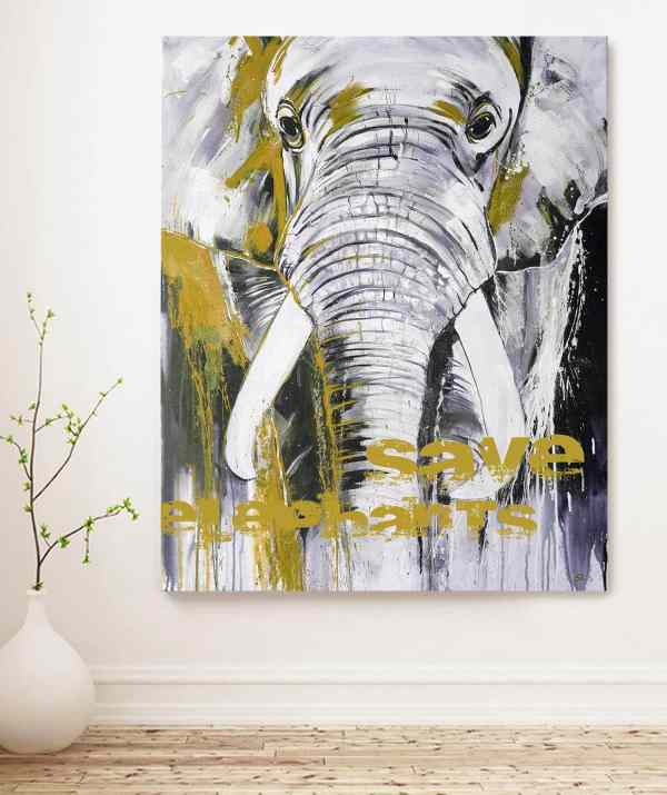 Sonderedition Elefant von Stefanie Rogge
