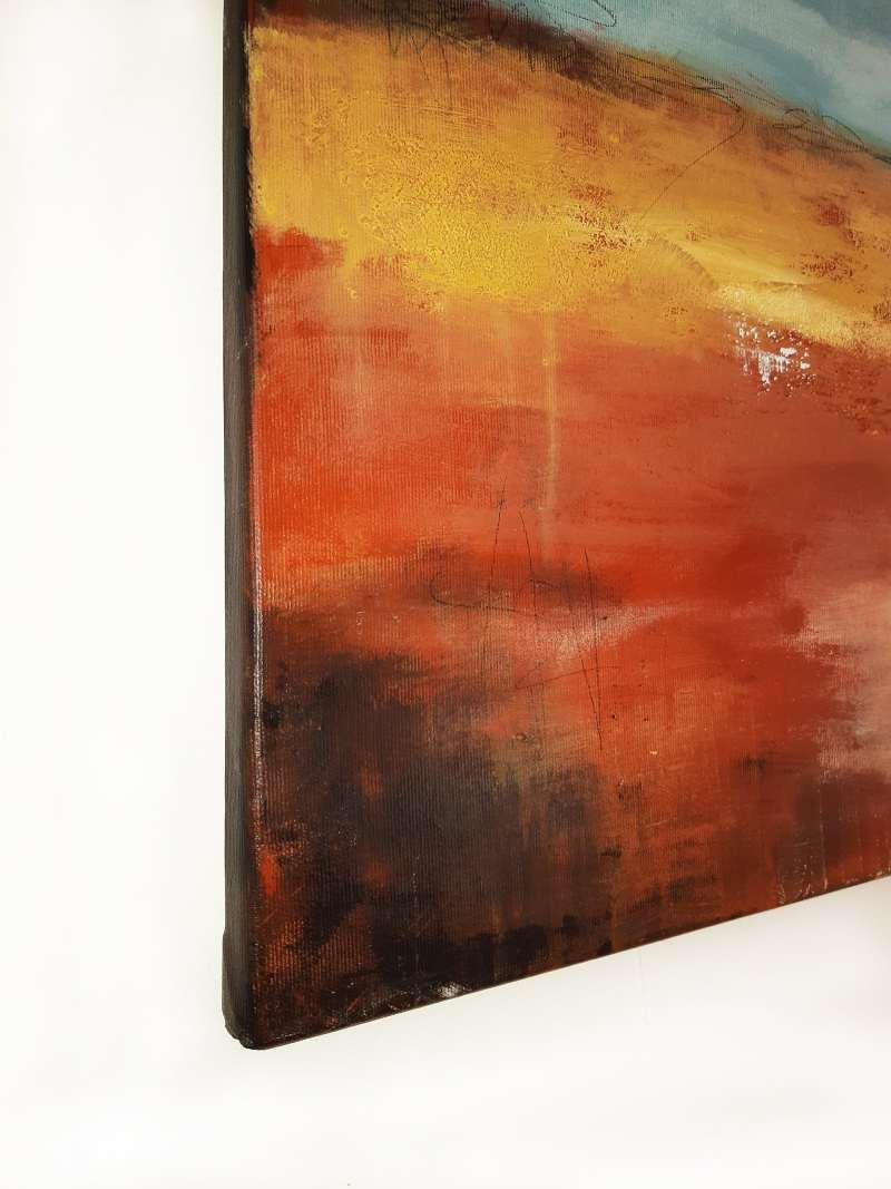 abstrakte Malerei strukturiert