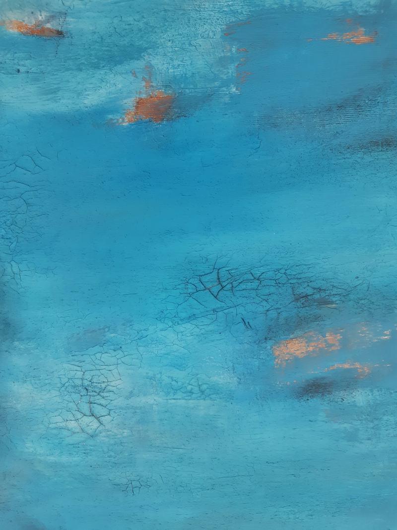 abstraktes Gemälde von stefanie Rogge
