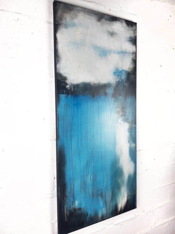 Moderne Kunst aus der Werkserie Lost Places von Stefanie Rogge direkt im Atelier kaufen