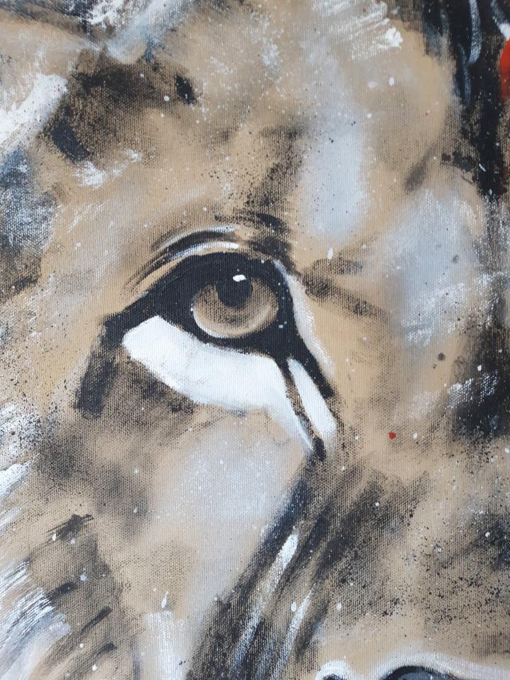 Detail Gemälde