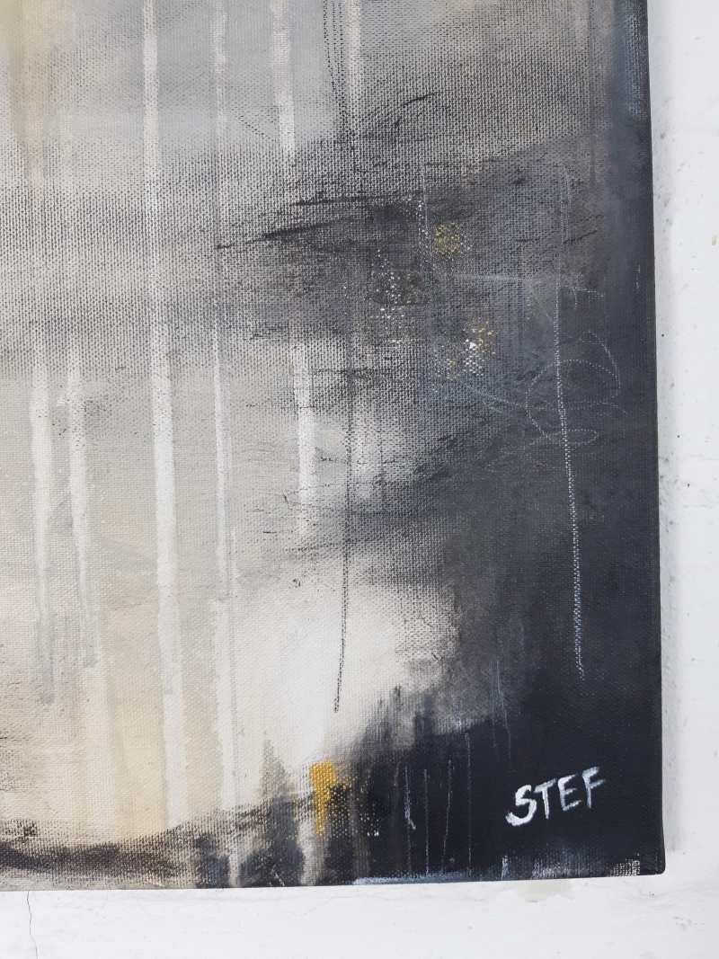Detail Gmälde von Stefanie Rogge