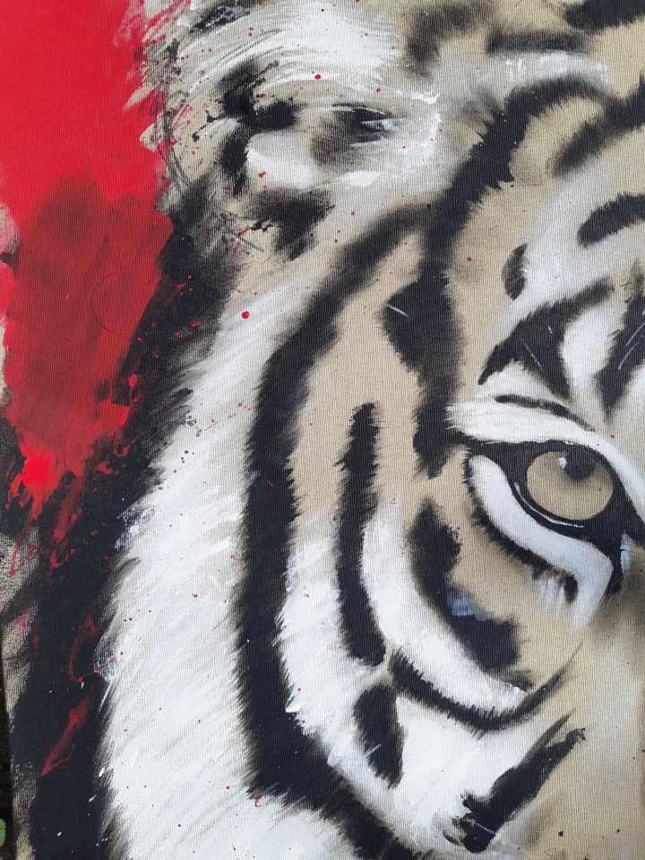 Tiger Gemälde