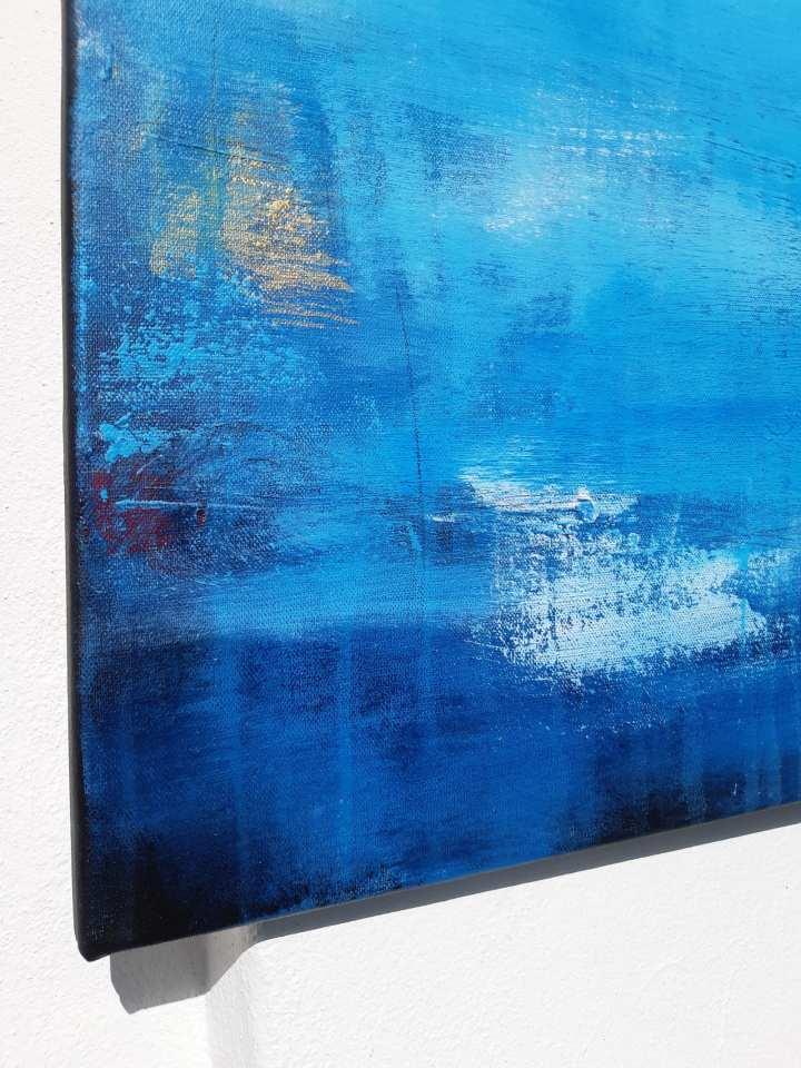 Detail abstraktes Gemälde
