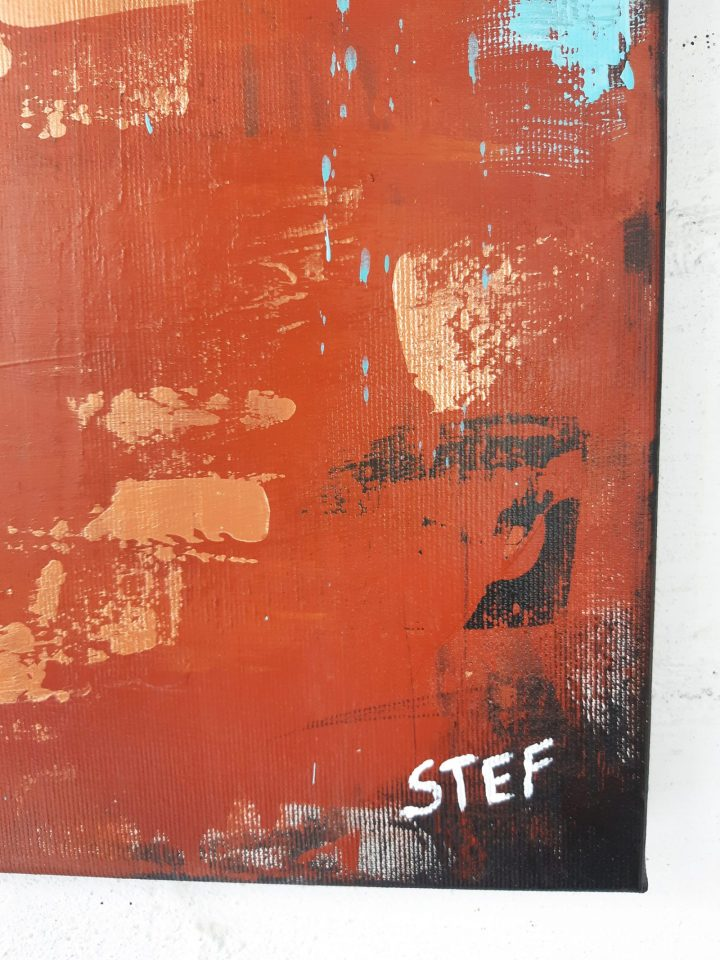 abstrakte Kunst Bild