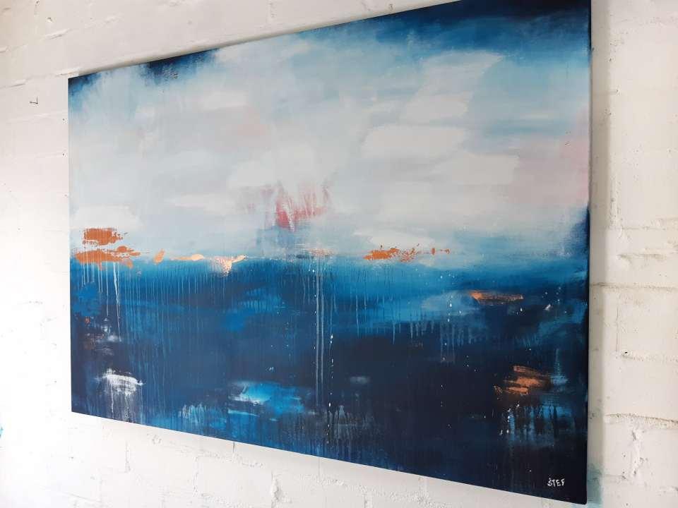 Großformatige Kunst modern
