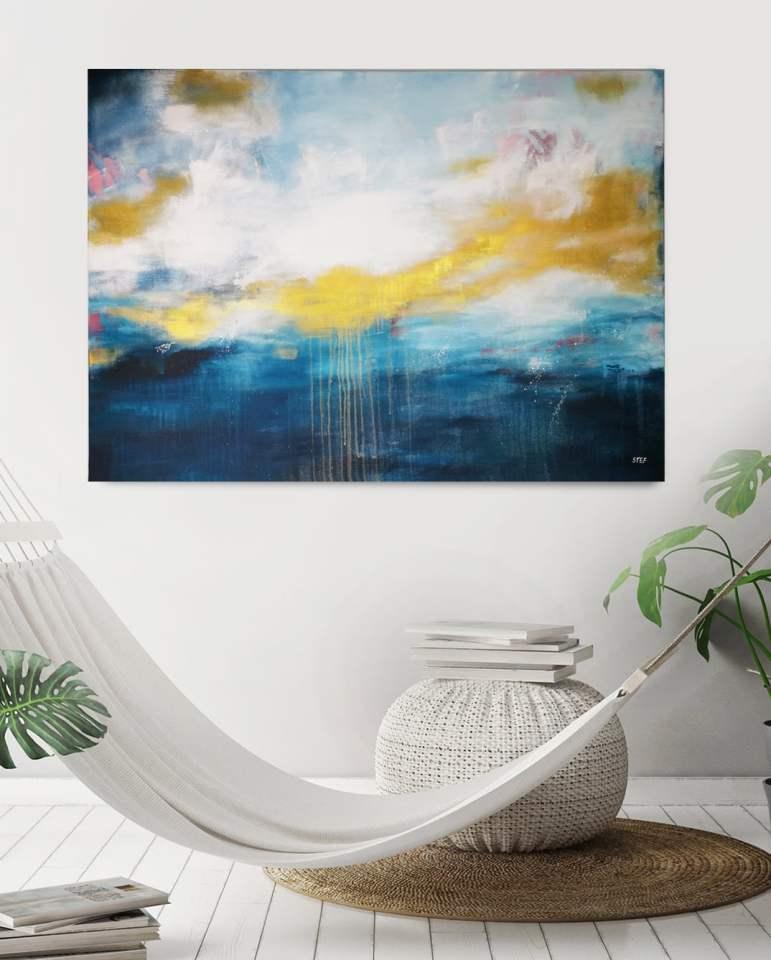 großes modernes Gemälde