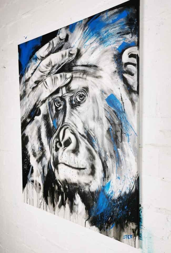 Gemälde Gorilla
