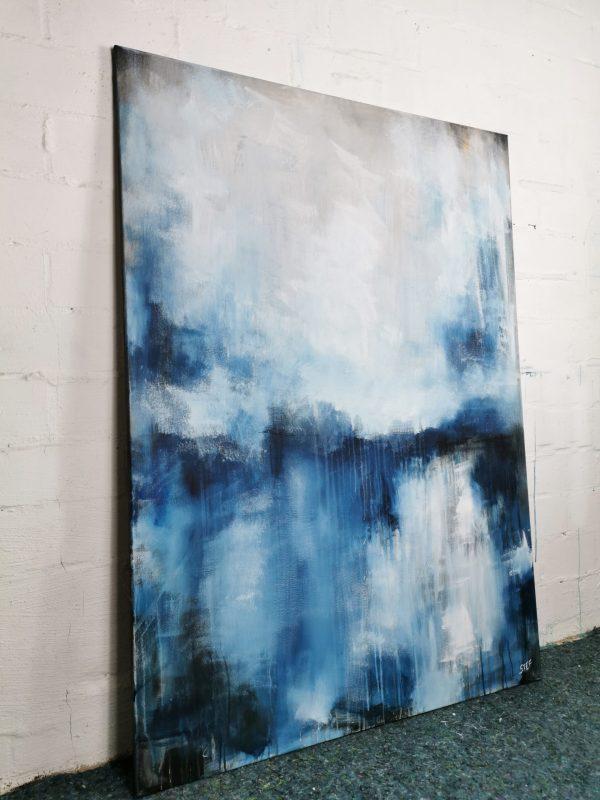 abstrakte großformatige Malerei