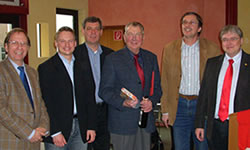 v.l.: Matthias Wehrmeyer, Stefan Klein, Matthias Möhle, Fritz Gläser, Gerd Meister, Frank Hoffmann