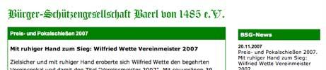 Bürger-Schützengesellschaft Baerl von 1485 e.V.