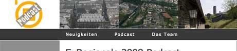 EuRegionale 2008 - Der Podcast
