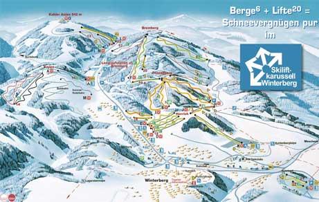 Ski-Lift-Karussell Winterberg