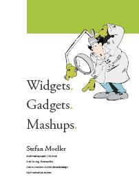 Titelblatt: Widgets. Gadgets. Mashups.