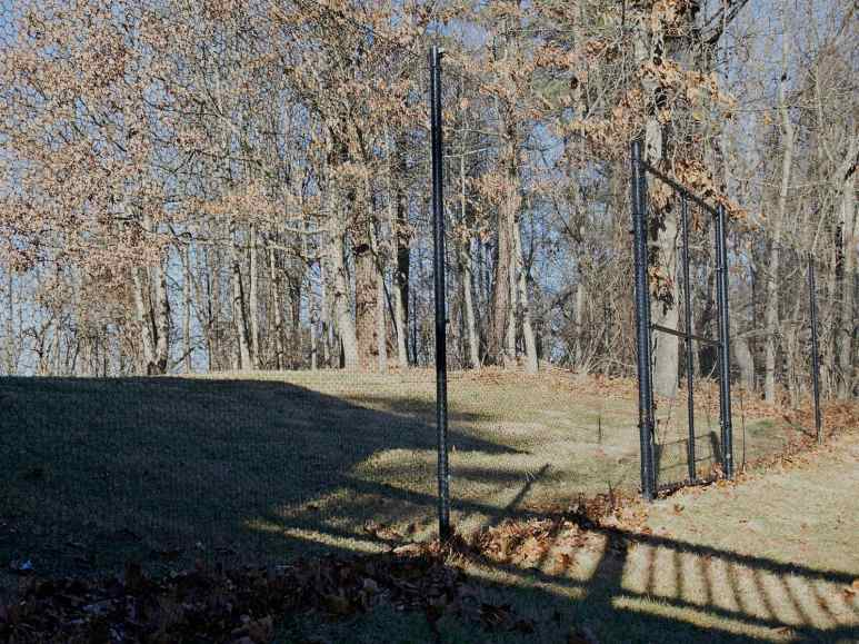 A new deer fence