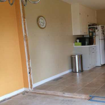 Kitchen Renovation, work in progress