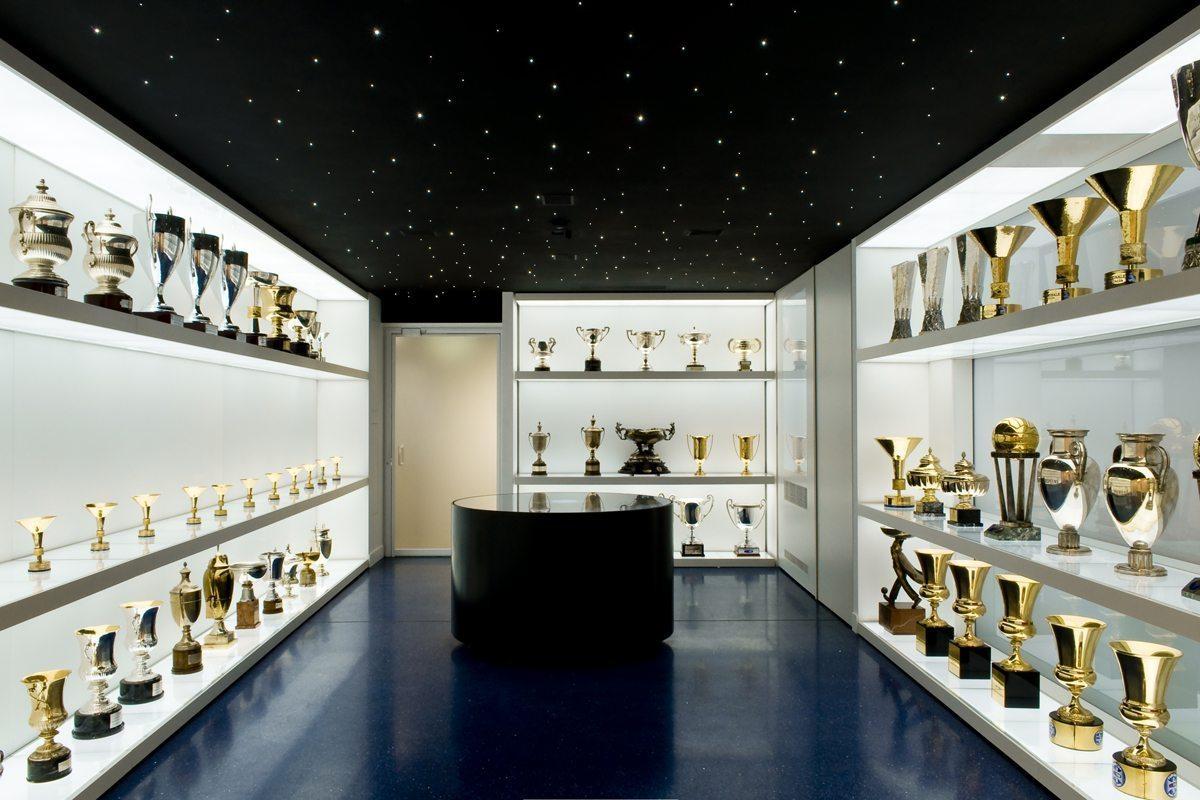 fc internazionale  sala dei trofei  Stefano Boeri Architetti