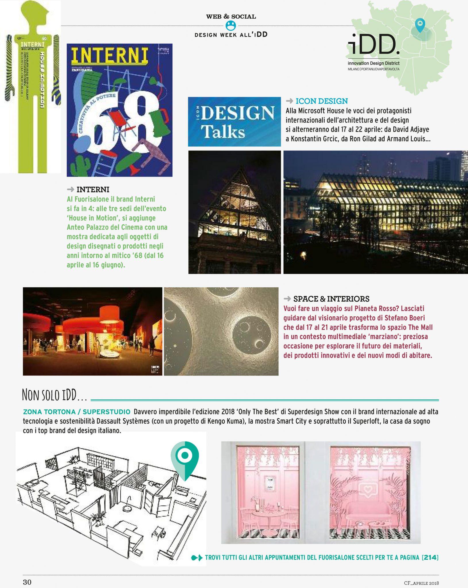 Studio di architettura d'interni a milano. Casa Facile Space Interiors A Trip To The Red Planet Stefano Boeri Architetti
