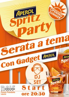 "Poster for ""spritz party night"""