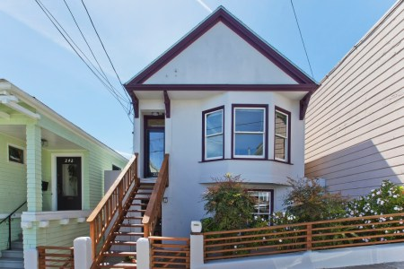Rarely available vacant two-unit building on a prime Bernal block! 236-238 MOULTRIE ST, SAN FRANCISCO, CA 94110