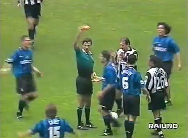 Immagini di Ceccarini in Juventus-Inter del 24 aprile 1998