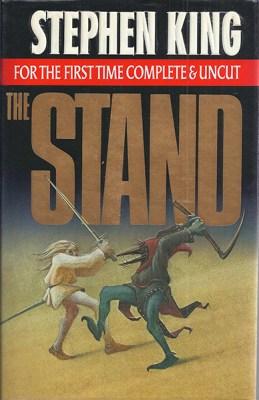 """Copertina di """"The Stand"""" di Stephen King"""