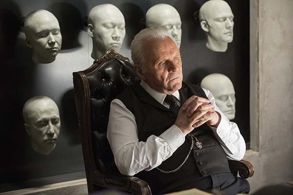 Uno straordinario Anthony Hopkins in Westworld