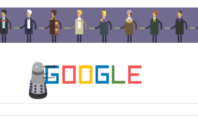 Today S Google Doodle Celebrates Doctor Who 50th