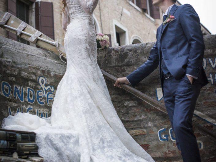 Fotografo Matrimonio Venezia Abito da Sposa