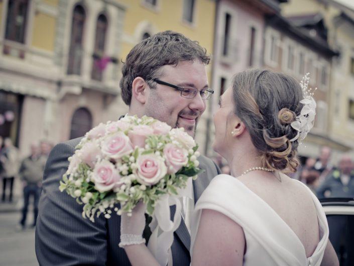 Foto Sposi Matrimonio Bouquet