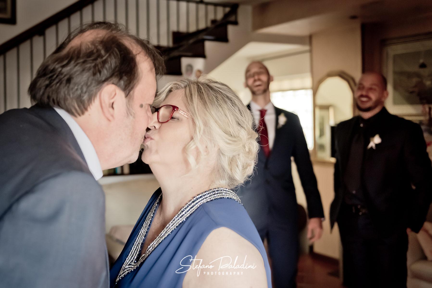 Un bacio Inaspettato, fotografia di Matrimonio