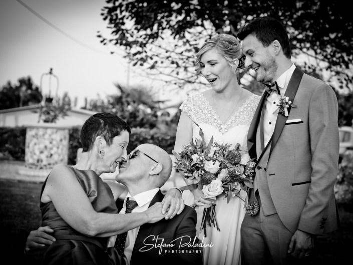 Fotografo di Matrimoni - Bacio Genitori
