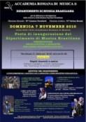 Stefano Rossini e Accademia Romana di Musica, Dipartimento di Musica Brasiliana