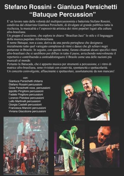 Stefano Rossini - Gianluca Persichetti Batuque Percussion