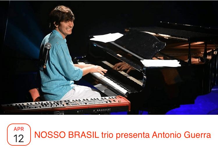 Nosso Brasil trio con Antonio Guerra