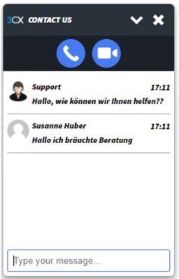 3cx live chat