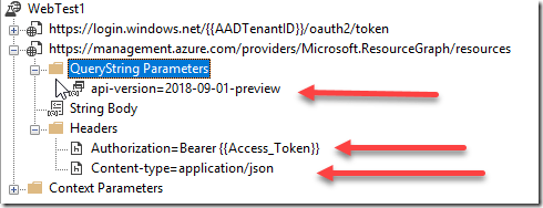 Azure Monitor – Application Insights Web Test Query Azure