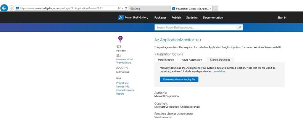 Azure Monitor – Application Insights Status Monitor v2 (Part