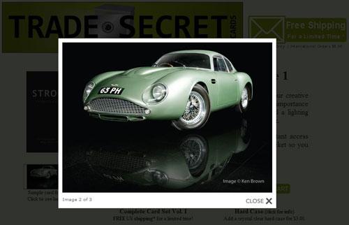 Trade Secret Cards - smarta fototips från Strobist på Flickr i samlarkortsformat