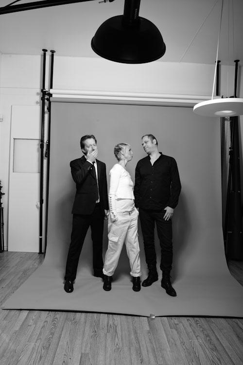 Behind the scenes - Studiofotografering av stå-upp-komiker, Lobbyn
